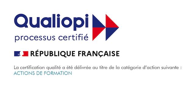 La certification qualité QUALIOPI a été délivrée au titre d'action suivante : ACTION DE FORMATION